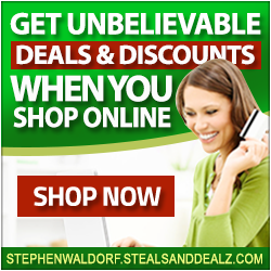 Steals and Dealz - Waldorf